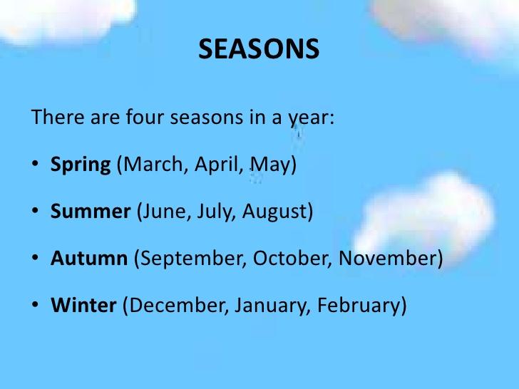 seasonsMonths
